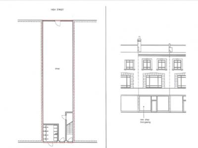 Plan 161 High Street Penge